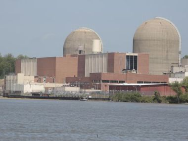 Indian Point nuclear plant, which the government of New York would prefer to close. Photo: Ricky Flores/The Journal News
