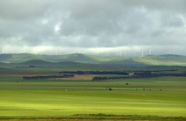 South Australian wind project Mount Bryan. Image credit: Flickr/Ian Sutton