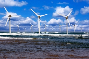 Image: Isle of Man is looking to harness offshore wind resources to generate clean electricity. Photo: courtesy of xedos4 / FreeDigitalPhotos.net.