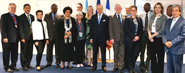 COP21 Facilitators - Meeting go on around the clock.