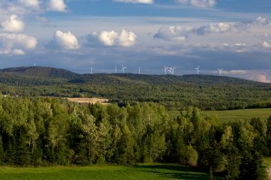 EDF EN's La Mitis wind farm in Quebec (EDF EN Canada)