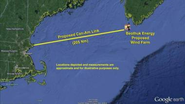 Beothuk Energy Announces Offshore Wind Farm, Offshore Nova Scotia