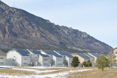 Balfour Beatty has installed solar units at the Army post. - Courtesy Fort Carson