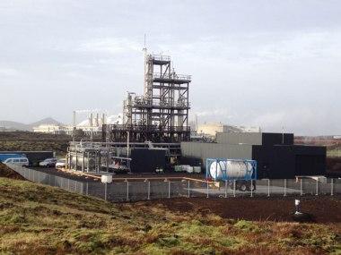 CRI's George Olah Renewable Methanol plant in Reykjavik, Iceland has an output of 4000 tonnes per year © CRI