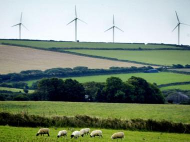 Shutting down onshore wind farms by removing subsidies will save a typical householder £0.30 a year. Getty