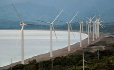 Wind farm in Bangui. Photo from tourism.gov.ph