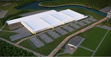Solar gigafactory. SolarCity image.