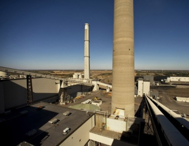 Two coal-burning units at the Sherco power plant in Becker, Minnesota, will be retired sometime in the 2020s, Xcel Energy said.