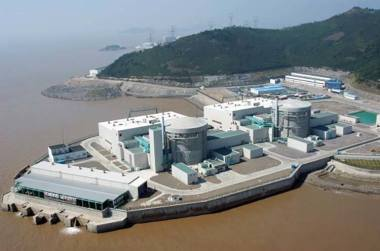 Reactor at Qinshan: Many experts doubt that China can go far to meeting its needs with nuclear power. Photo credit: Atomic Energy of Canada Limited