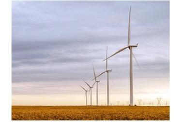 Siemens wind turbines.