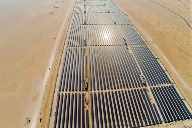 Dewa has ramped up the capacity of Dubai's Sheikh Mohammed Bin Rashid Al Maktoum Solar Park to 5,000 MW. Courtesy Dewa