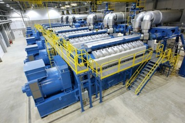 Wärtsilä 34SG engines at Pearsall Power Plant, located in Texas (Image: Wärtsilä)