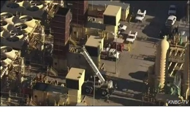 Operations are underway to stop the gas leak.