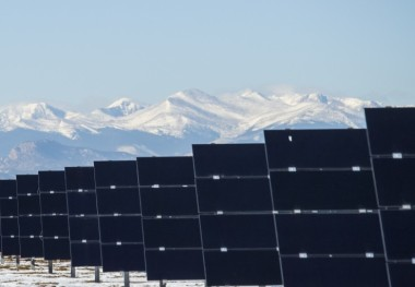 Poudre Valley Rural Electric Association has brought two new solar farms online. (Courtesy PVREA)