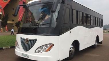 Electric bus. Image Credit: Kiira Motors