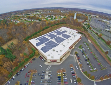 Target store in Manchester, Connecticut. Greenskies Renewable Energy photo.