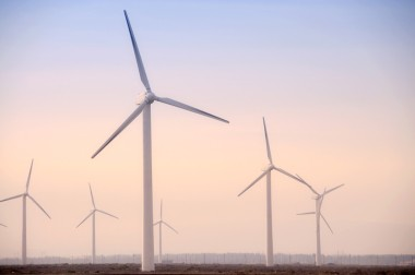 Wind turbines in Western China. Image: Shutterstock