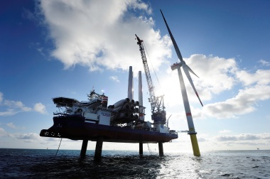 Dong Energy's Gode wind project (Dong photo)