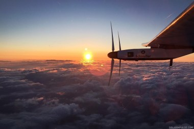 After seven months, Solar Impulse 2 has returned to the sky as it prepares to resume its record-setting round-the-world flight.