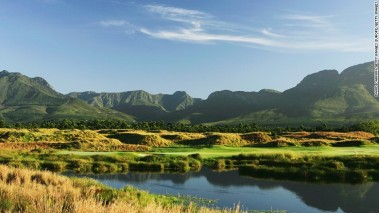 The George Airport is located along South Africa's Garden Route, an area of outstanding natural beauty.
