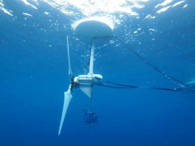 Ocean turbine proposed by Okinawa Institute of Science and Technology