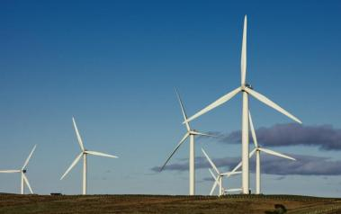 Wind farm in Scotland. Author: Neil Williamson. License: Creative Commons, Attribution-ShareAlike 2.0 Generic.