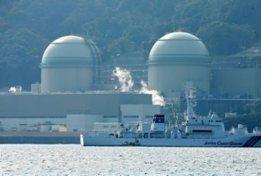 Kansai Electric Power's No 3 (L) and No 4 (R) reactors at the Takahama nuclear plant. AFP