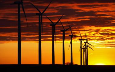 Wind turbines. Author: Rex Brown. License: Creative Commons, Attribution-NoDerivs 2.0 Generic