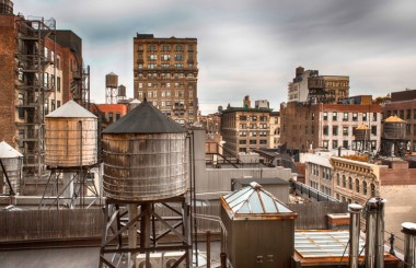 Image Water towers via Shutterstock