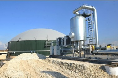A digester in Melton Ross, North Lincolnshire