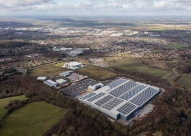EvoEnergy completes UK's fourth largest rooftop solar array