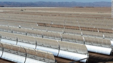 Morocco's Noor I solar plant near Ouarzazate currently powers over 100,000 homes.