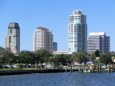 St. Petersburg Florida. Photo by John O'Neill. CC BY-SA 3.0. Wikimedia Commons.