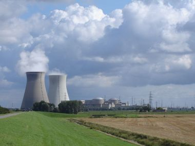 Belgium's Doel nuclear plant. Photo by LimoWreck. CC BY-SW 3.0 unported. Wikimedia Commons.