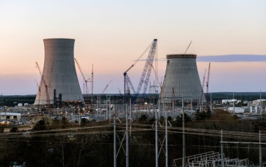 The first of two new reactors at Plant Vogtle were supposed to open April 1. (Georgia Power Company)