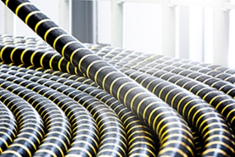 ABB's high-voltage cable manufactured in Karlskrona factory, Sweden. Photo: courtesy of ABB.