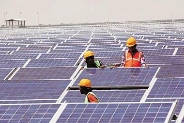 Prime Minister Narendra Modi increased India's target for solar power from 20,000 MW to 100,000 MW by year 2022.