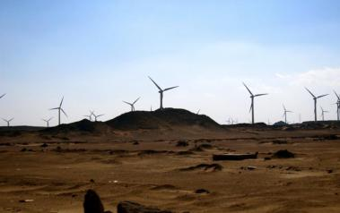 Wind farm in Egypt. Author: Gigi Ibrahim. License: Creative Commons, Attribution 2.0 Generic