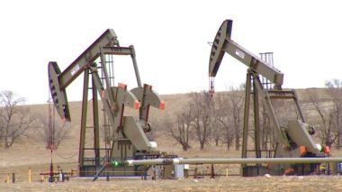Many of those who came here to work in North Dakota's oil industry have now gone home.