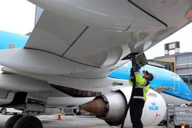 KLM image bank photo