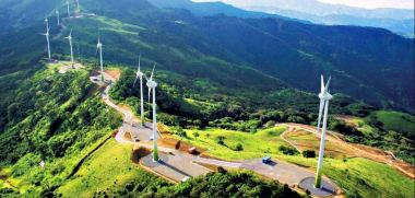 Santa Ana, Costa-Rica Wind Turbines. Photo sites.psu.edu