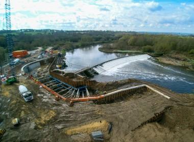 Kirkthorpe hydro project. Barn Energy image