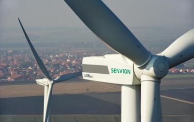 Senvion's 3.4M104 turbine. Source: Senvion SE 2014. License: All rights reserved.