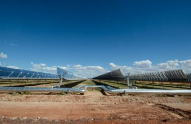 The Bokpoort Concentrated Solar Power plant.