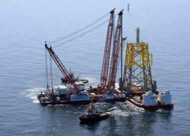 Nordsee 1 offshore substation foundation (RWE Innogy)