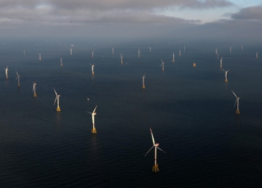 Offshore wind farm. RWE image.
