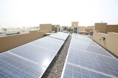 Solar PVs have been installed on 30 buildings as part of the Shams Dubai initiative. Wam