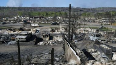 The wildfires have devastated parts of Fort McMurray.