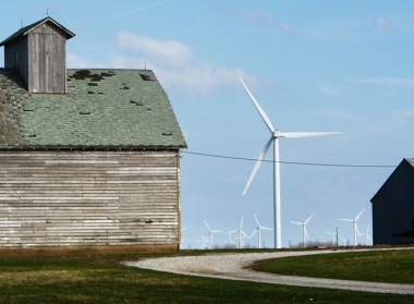 Meadow Lake wind. (Photo By: EDP Renewables)