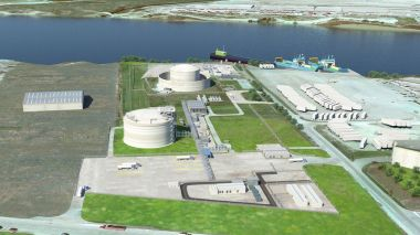Tilbury LNG illustration (courtesy Fortis)